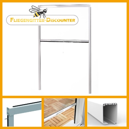 fliegengitter rollo fenster insektenschutz rollo t r doppelschiebet r schiebet r ebay. Black Bedroom Furniture Sets. Home Design Ideas