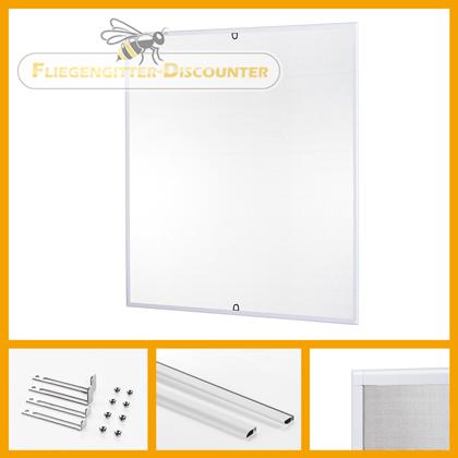 fliegengitter fenster t r dachfenster klettband magnet lamellenvorhang rollo ebay. Black Bedroom Furniture Sets. Home Design Ideas