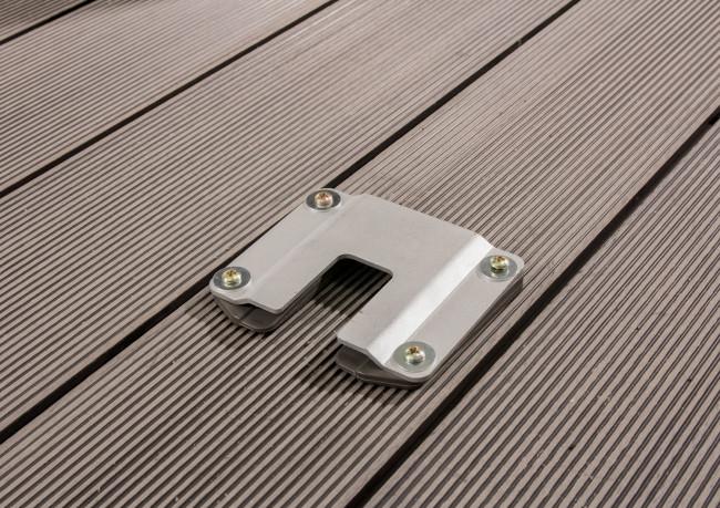 """Bodenplatte für Markise """"SLIM"""" 160/180/200 x 300 cm"""