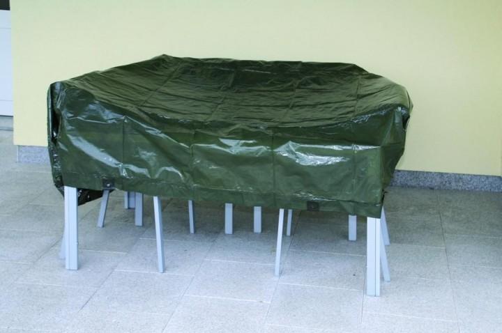 Abdeckplane 90g/m² Anwendung Gartenmöbel