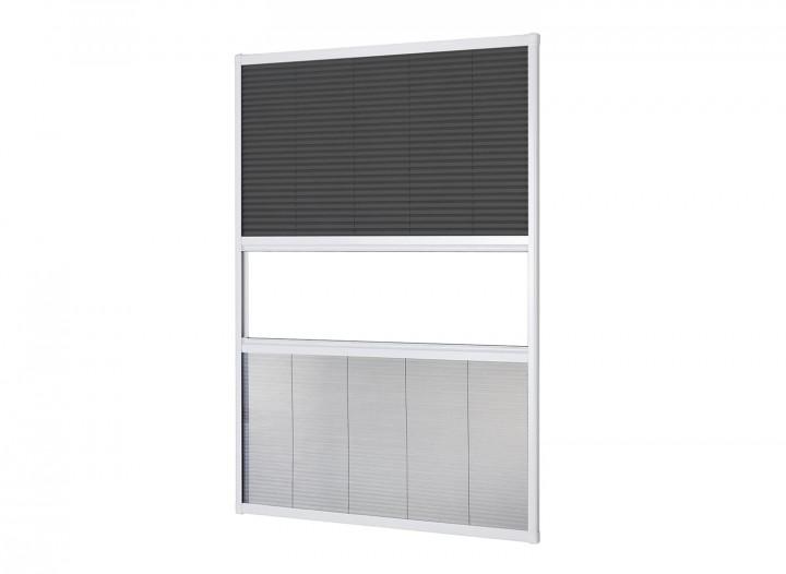 Sonnenschutz Insektenschutz Dachfenster Plissee Freisteller Weiß