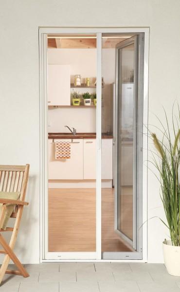 Insektenschutzrollo Tür Smart weiß