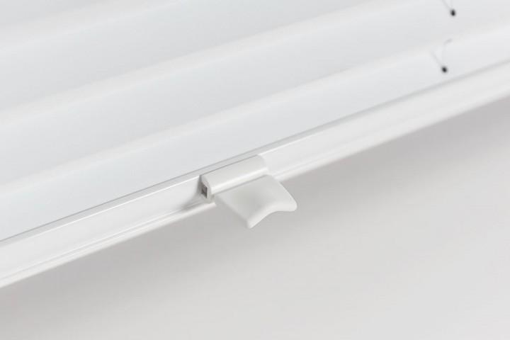 Plissee auf Maß Detail Cosiflor Griff