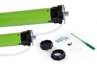 Rollladenmotor mit Kabel- oder Funk-Steuerung zum Nachrüsten