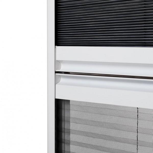 Sonnenschutz Insektenschutz Dachfenster Plissee Griffleiste