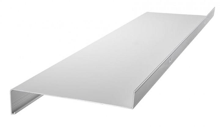 Fensterbank Alu 195mm weiß