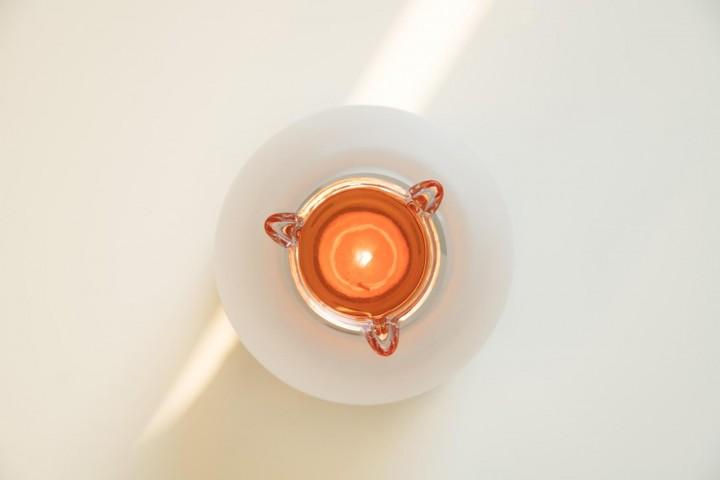 Duftofen und Räucherofen SOL Glasschale