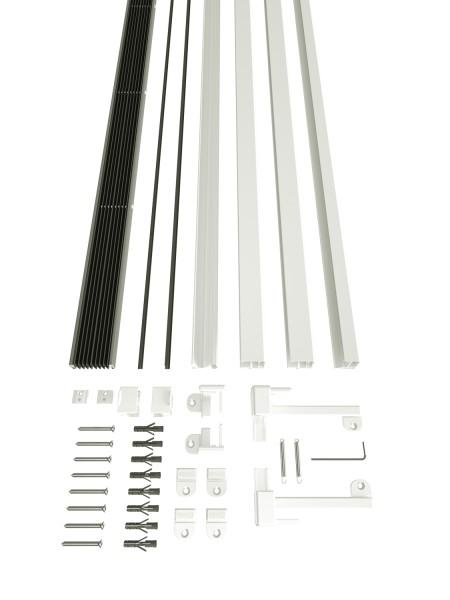 Dachfenster Plissee XL Lieferumfang