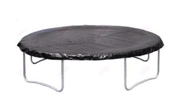 Regenabdeckung für Trampolin, 8 ft / 244 cm - 16 ft / 487 cm Schwarz