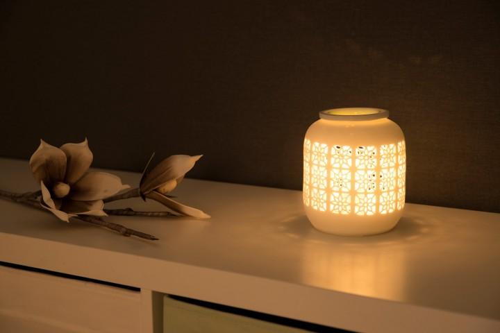 elektrische Aromalampe Blume Ambiente