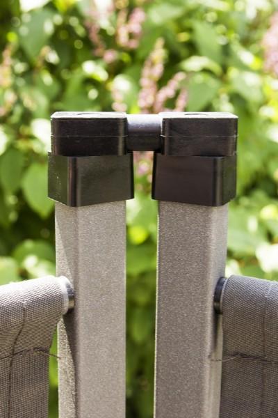 Outdoor Paravent Detail Scharnier