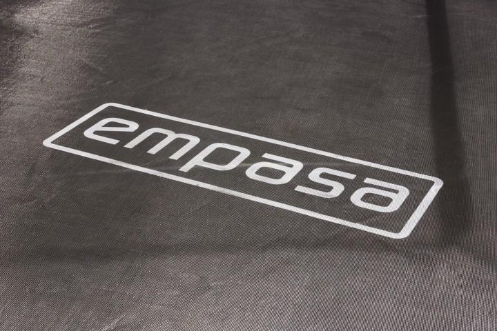 """Empasa Outdoor-Trampolin """"blu"""", 4.26 m - BLAU - inkl. Sicherheitsnetz und Leiter"""