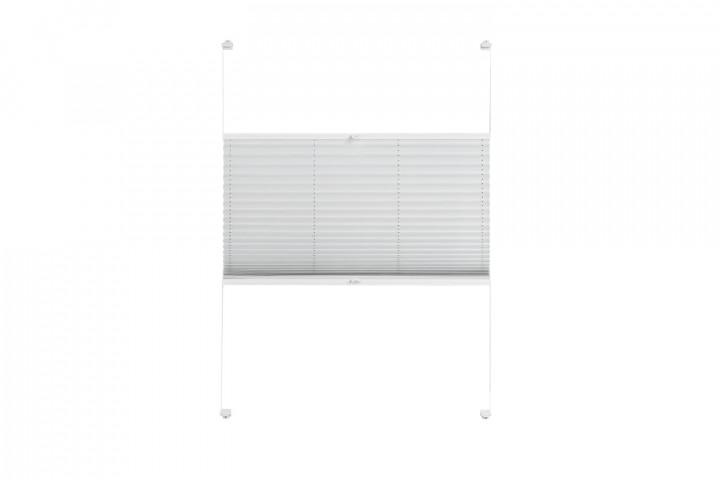 Plissee nach Maß für Fenster Farbe N097 Nimbus Cloud Freisteller VS2