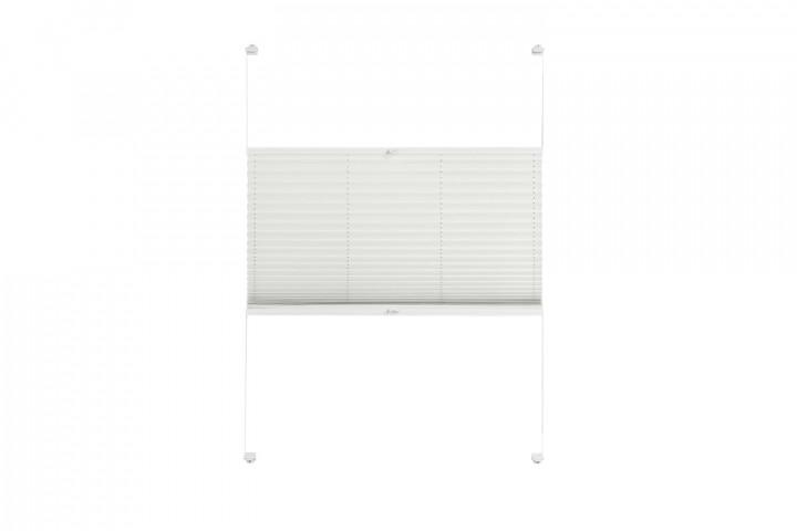Plissee nach Maß für Türen Farbe N181 Ivory Freisteller VS2