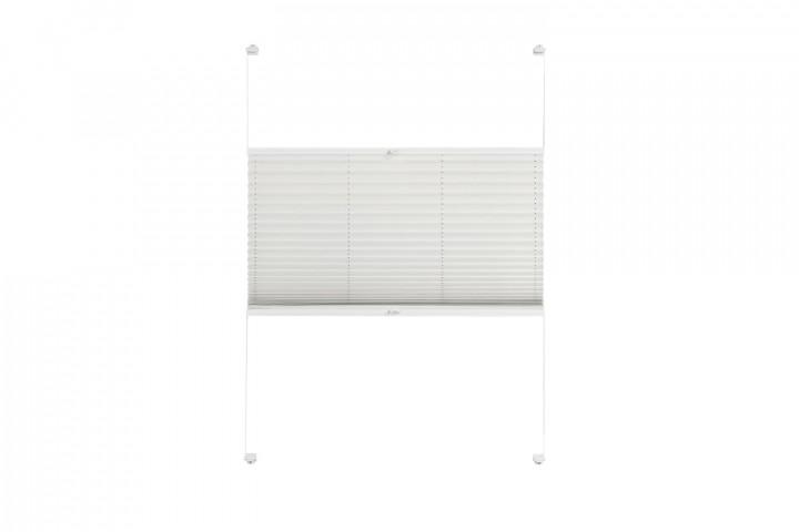 Plissee nach Maß für Fenster Farbe N176 Snow White Freisteller VS2