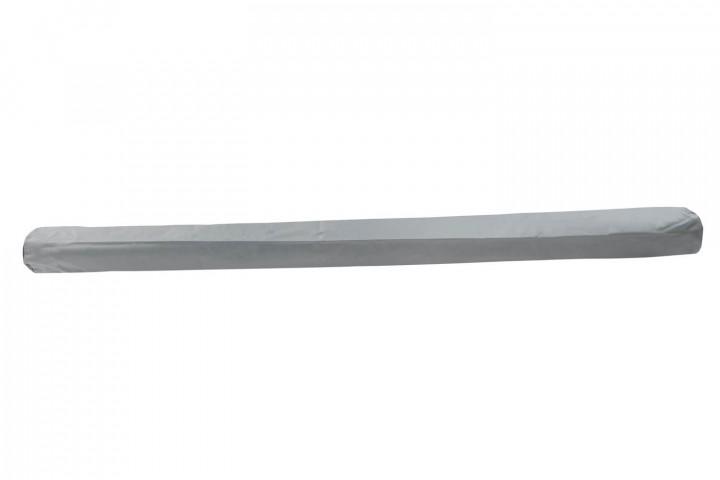 Schutzhülle für Gelenkarmmarkisen, montiert oder abgenommen - hellgrau