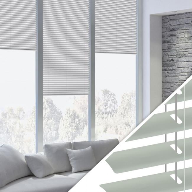 Aluminium Jalousie nach Maß für Fenster, Farbe 2006 grey