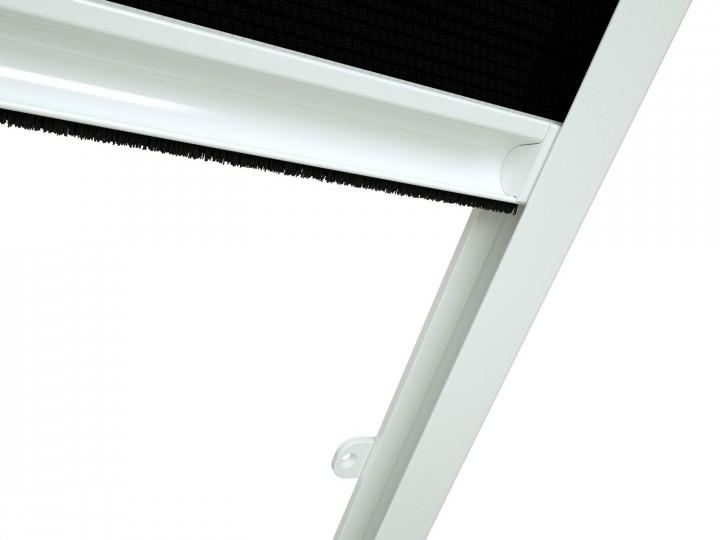 Dachfenster Sonnenschutz Plissee MASTER SUN Griffleiste 2