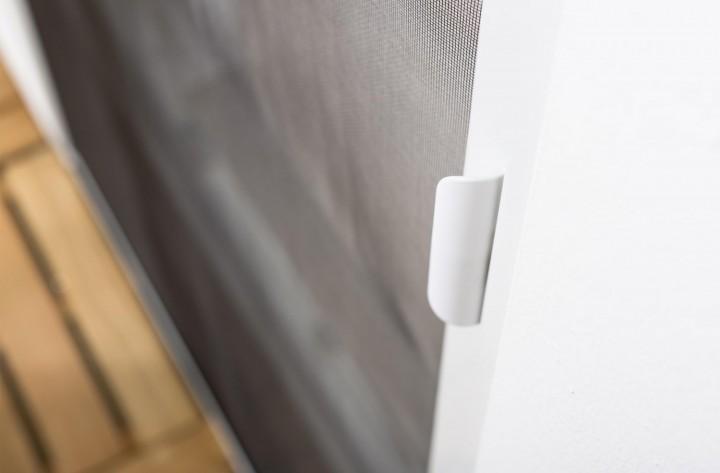 Insektenschutzrollo Tür Smart Griff