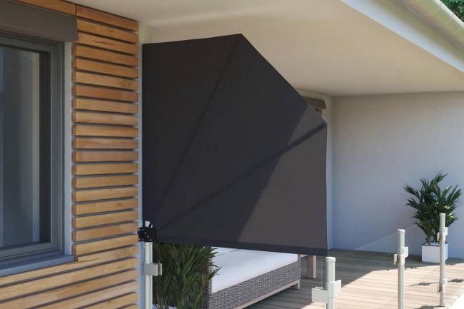 Balkonfächer Seitensichtschutz, verschiedene Größen & Farben