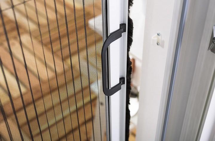 Insektenschutz Plissee Tür Griff