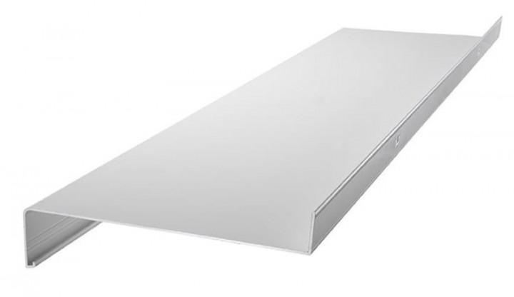Fensterbank Alu 50mm weiß