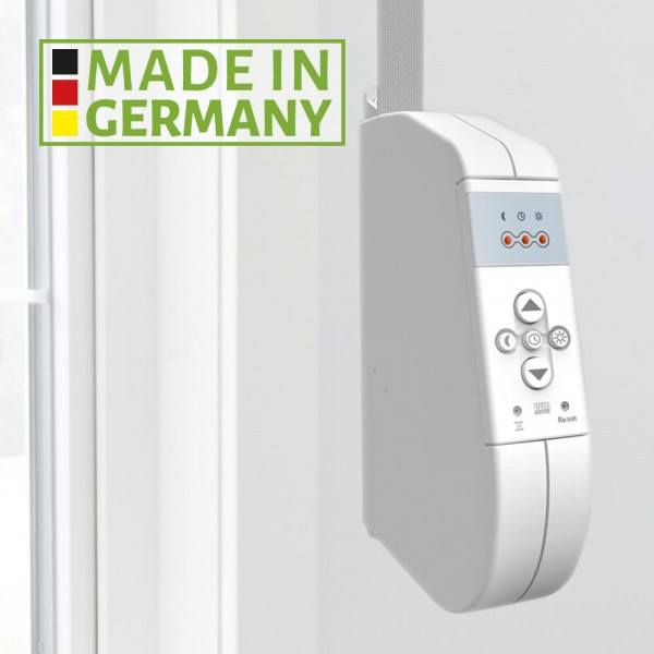 Elektrischer Gurtwickler Aufputz Standard - Made in Germany