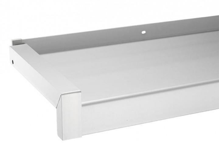 """Fensterbank Gleitabschluss """"DESIGN"""", Aluminium - 1 Paar"""