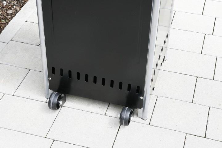 Heizpilz Optical Pro Transportrollen