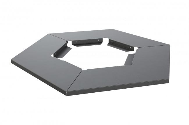 """Tisch für Gasheizer """"HEXA FLAME 2.0"""", verschiedene Farben"""