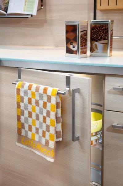 Handtuchhalter ausziehbar, Edelstahl