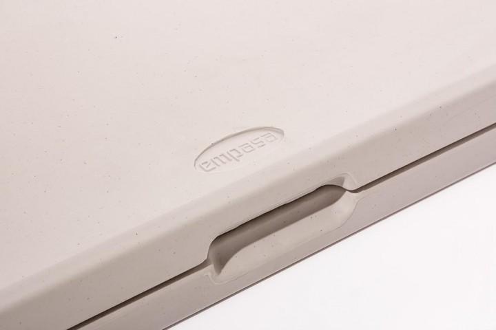 Klappbank aus Kunststoff Detail 2