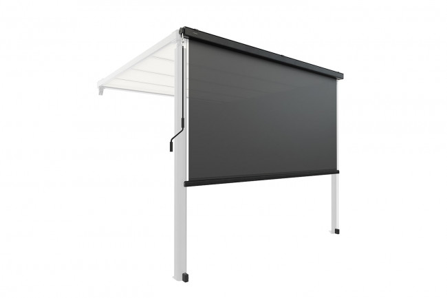 Vorhang / Sonnenschutzrollo für elektrische Pergola, anthrazit