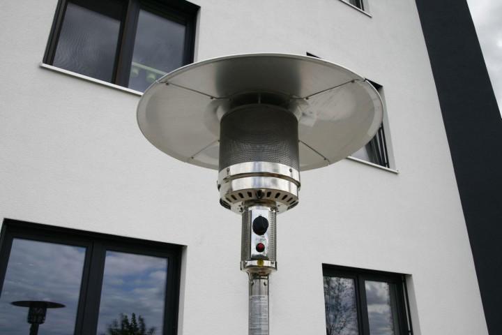 "Gasheizer / Heizpilz ""CLASSIC LIGHT"", Stahl/Edelstahl"