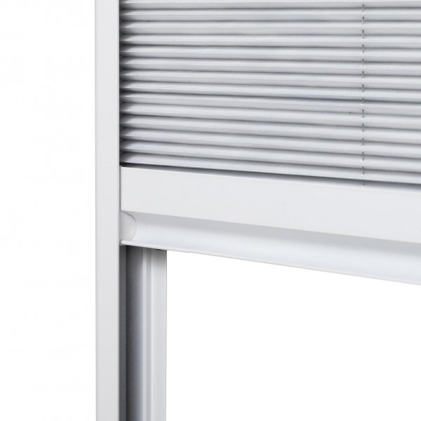 Sonnenschutz Dachfenster Plissee Griffleiste