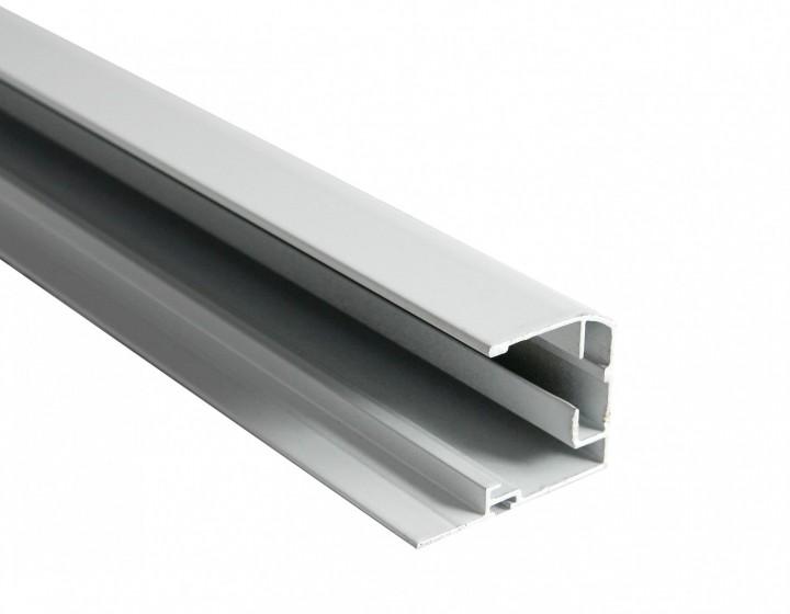 Dachfenster Plissee XL Profil weiß