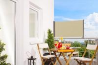 """Balkon-Markise """"UP"""",  80 x 300 cm - Aluminium/Textilgewebe"""