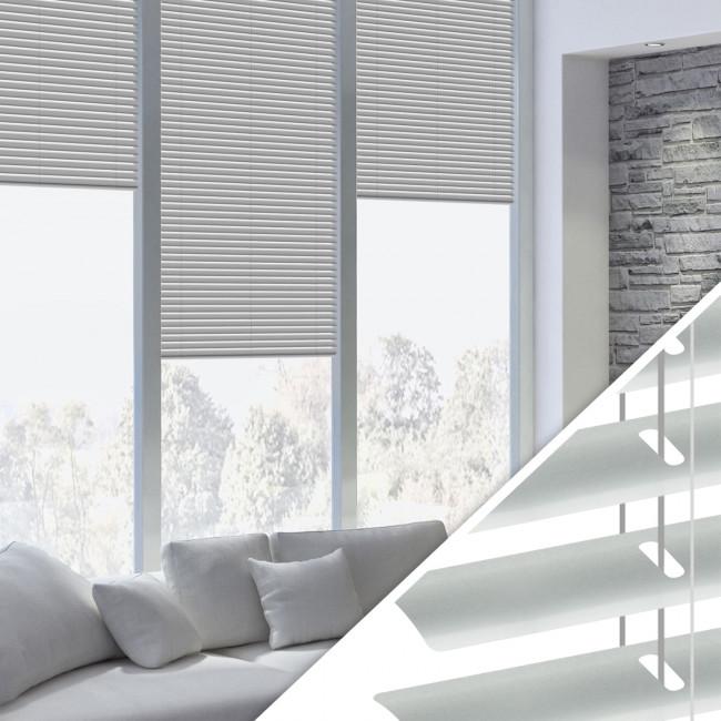 Aluminium Jalousie nach Maß für Fenster, Farbe 2008E aluminium