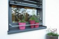 Blumenkastenhalter, Aluminium/Druckguss