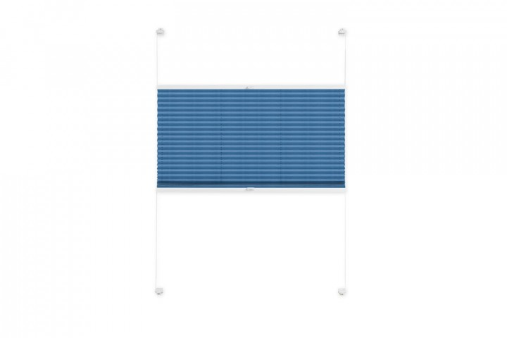 Plissee nach Maß für Fenster Farbe N031 Skydiver Freisteller VS2