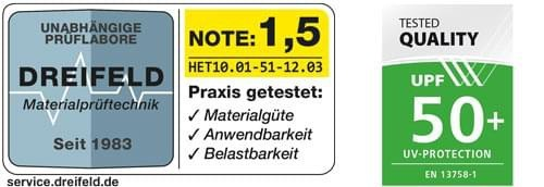 """Seitenmarkise Windschutz """"PRO"""", 160 x 300 cm - beige - Aluminium/Textilgewebe"""