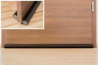 3x Türbodendichtung easyFix, schwarz - 950 mm