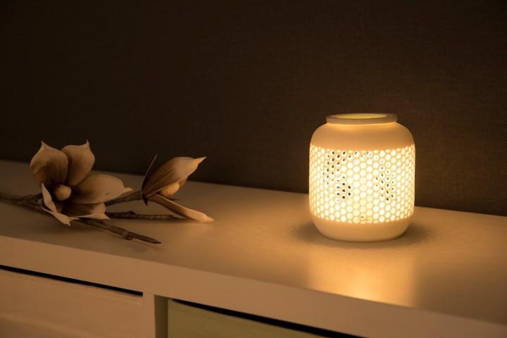 elektrische Aromalampe Bienenwabe Ambiente
