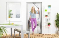 Fliegengitter Vorhang Tür, Polyester - 120 x 210 cm
