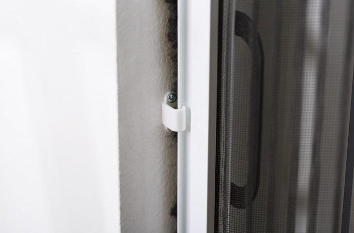 Insektenschutz Plissee Tür Verschluß