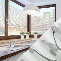 Plissee nach Maß für Fenster, Farbe N109 White Japan